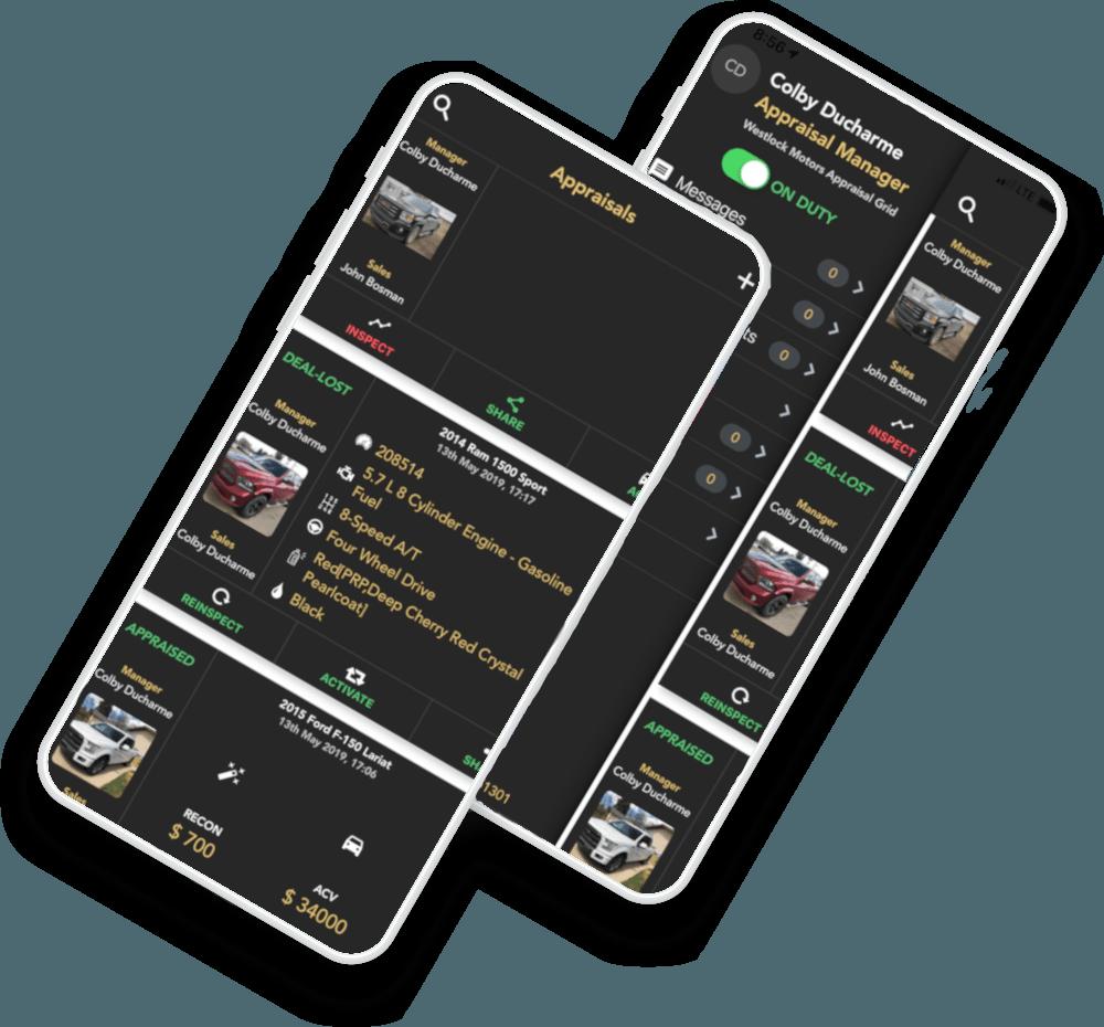 Appraisal Grid Appraisals Automotive App